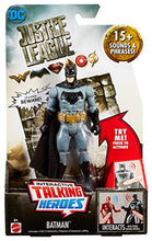 Load image into Gallery viewer, Mattel Justice League Figure - Talking Heroes Batman (Multicolor)