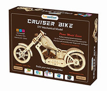 Load image into Gallery viewer, Funvention- for Little Scientist in Every Kid Cruiser Bike -DIY Rubber Band Powered Mechanical Model -STEM Learning Kit