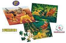 Load image into Gallery viewer, Frank  Disney's The Lion King Puzzle for 5 Year Old Kids and Above