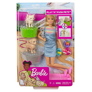 BARBIE Plan 'N' Wash Pets Doll and Playset