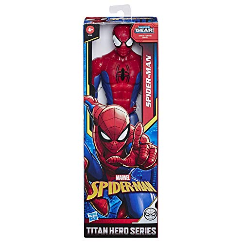 MARVEL Spider-Man Titan Hero Series Spider-Man 12-inch-scale Super Hero Action Figure Toy with Titan Hero FX Port