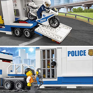 LEGO City Police  Mobile Command Center Building Blocks for Kids 6 to 12 Years ( 374 Pcs) 60139