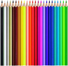 Load image into Gallery viewer, Maped Color'Peps Color Pencil Set - Pack fo 24 with Metal Box(Multicolor)