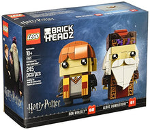 Load image into Gallery viewer, Limited Edition lego 41621 brickheadz Ron Weasley & Albus Dumbledore Building kit 245 Piece