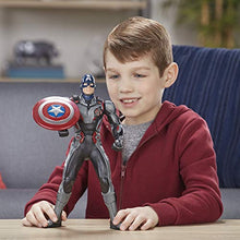 "Load image into Gallery viewer, Marvel Avengers Endgame Shield Blast Captain America 13""-Scale Figure Featuring 20+ Sounds & Phrases"