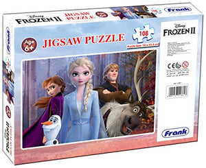 Frank Frozen 2 108 Pieces Puzzle for 6 Year Old and Above