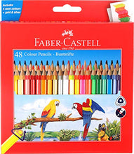 Load image into Gallery viewer, Faber-Castell 48 Triangular Colour Pencils