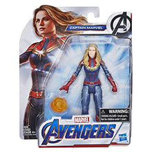 "Load image into Gallery viewer, Marvel Avengers: Endgame Captain Marvel 6""-Scale Figure"