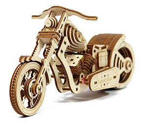 Funvention- for Little Scientist in Every Kid Cruiser Bike -DIY Rubber Band Powered Mechanical Model -STEM Learning Kit
