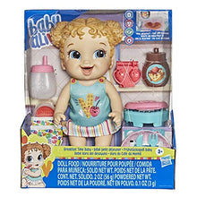 Load image into Gallery viewer, Baby Alive Breakfast Time Baby Doll with Waffle Maker, Accessories, Drinks, Wets, Eats, Blonde Hair Toy for Kids Ages 3 Years and Up