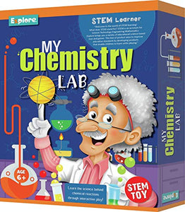 Explore | STEM Learner | My Chemistry Lab (Learning & Educational DIY Activity Toy Kit, for Ages 6+ of Boys and Girls)