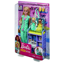 Load image into Gallery viewer, Barbie Careers - Baby Doctor Doll and Playset, 2 Infant Dolls & Themed Accessories