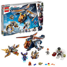 Load image into Gallery viewer, LEGO Marvel Avengers Hulk Helicopter Rescue 76144 Building Kit (482 Pieces),Multi