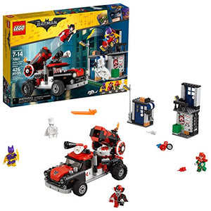 LEGO BATMAN MOVIE DC Harley Quinn Cannonball Attack 70921 Building Kit (425 Piece)