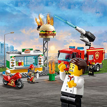 Load image into Gallery viewer, LEGO City Burger Bar Fire Rescue Building Blocks for Kids (327 Pcs)60214