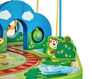 Hape Jungle Adventures Railway Table with Engine
