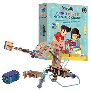 Smartivity Pump it Move it Hydraulic Crane STEM STEAM Educational DIY Building Construction