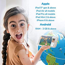 Load image into Gallery viewer, Shifu Orboot: The Educational, Augmented Reality Based Globe | STEM Toy for Boys & Girls Age 4 to 10 Years | Ideal Gift for Kids (No Borders or Names on Globe)
