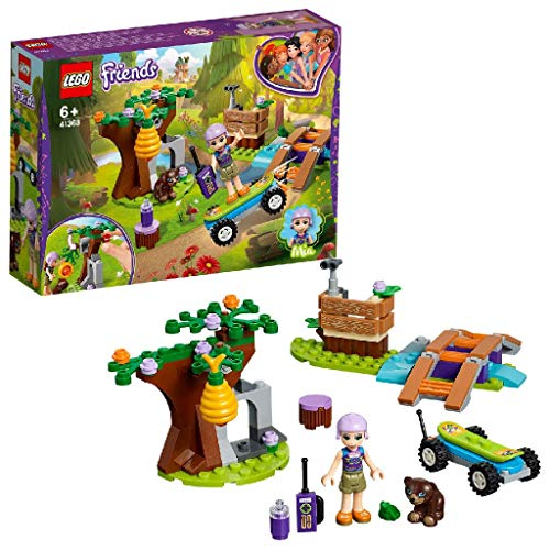 LEGO Friends Mia's Forest Adventure Building Blocks for Girls (134 Pcs)41363