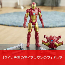 Load image into Gallery viewer, MARVEL Avengers Titan Hero Series Blast Gear Iron Man Action Figure, 12-inch Toy, with Launcher, 2 Accessories and Projectile, Ages 4 and Up