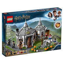 Load image into Gallery viewer, LEGO Harry Potter Hagrid's Hut: Buckbeak's Rescue 75947 Toy Hut Building Set from The Prisoner of Azkaban Features Buckbeak The Hippogriff Figure (496 Pieces)