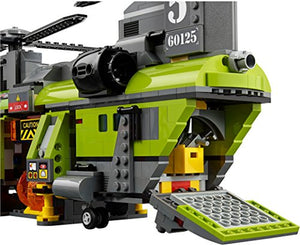Lego 60125 Volcano Heavylift Helicopter, Multi Color
