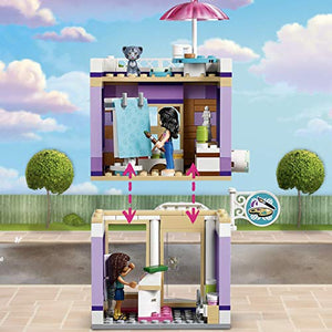 LEGO Friends Emma's Art Studio Building Blocks for Girls (235 Pcs)41365