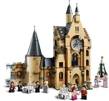 Load image into Gallery viewer, LEGO Harry Potter and The Goblet of Fire Hogwarts Clock Tower 75948 Harry Potter Gift and Playset with Minifigures Ron Weasley, Hermione Granger and More (922 Pieces)