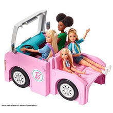Load image into Gallery viewer, Barbie 3-in-1 DreamCamper Vehicle, Transforming Camper with Pool, Truck, Boat & 60 Accessories