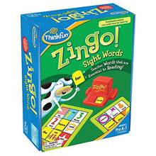 Load image into Gallery viewer, ThinkFun Zingo Sight Words Early Reading Game