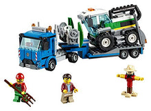 Load image into Gallery viewer, LEGO City Great Vehicles Harvester Transport 60223 Building Kit  (358 Pieces)