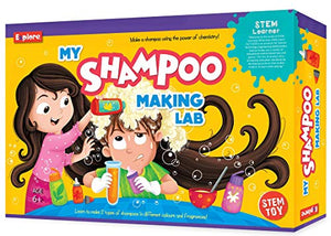 Explore.. | STEM Learner | My Shampoo Making Lab2 (Learning & Educational DIY Activity Toy Kit, for Ages 6+ of Boys and Girls)