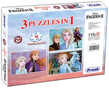 Load image into Gallery viewer, Frank Frozen 2 3 x 48 Pieces Puzzle for 5 Year Old and Above