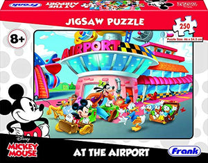 Frank Disney's Mickey Mouse - at The Airport 250 pcs Jigsaw Puzzle