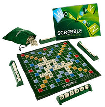 Load image into Gallery viewer, Mattel Scrabble Board Game, Multi Color