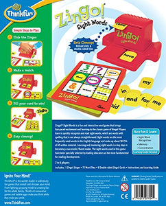 ThinkFun Zingo Sight Words Early Reading Game