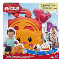 Load image into Gallery viewer, Playskool Pop Up Shape Sorter, Multi Color