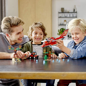 LEGO City Fire Plane Building Blocks for Kids (363 Pcs)60217