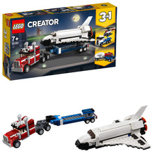 Load image into Gallery viewer, LEGO Creator Shuttle Transporter Building Blocks for Kids (341 Pcs)31091