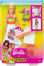 Load image into Gallery viewer, Barbie Crayola Cutie Fruity Surprise