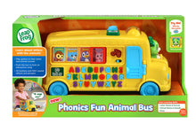 Load image into Gallery viewer, Leapfrog Phonics Fun Animal Bus