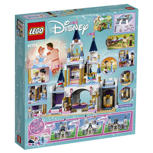 LEGO Disney Princess Cinderella's Dream Castle for Girls 5 to 12 Years (585 Pcs) 41154
