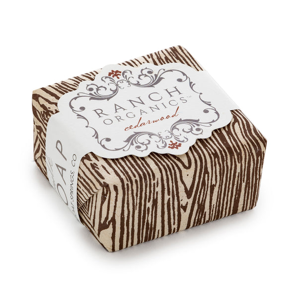 Cedar Wood Goat Milk Soap