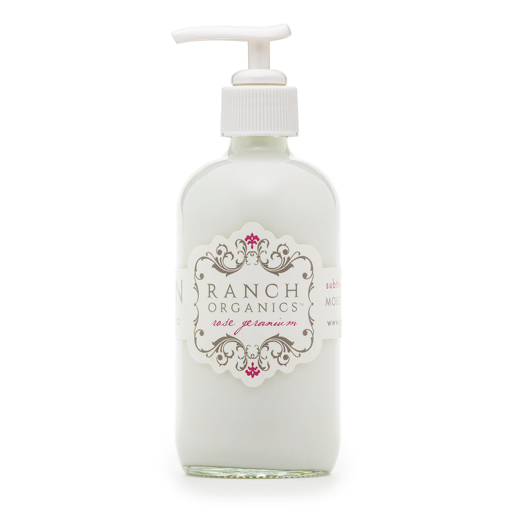 Rose Geranium Lotion - Clear