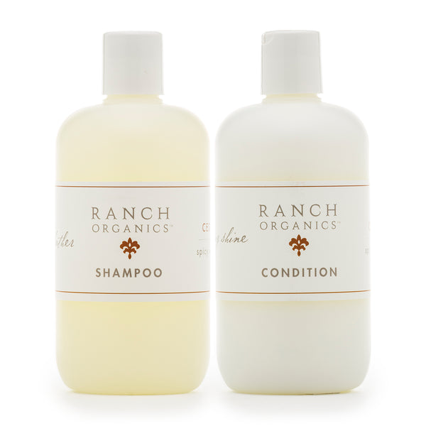 Cedar Wood Shampoo & Conditioner