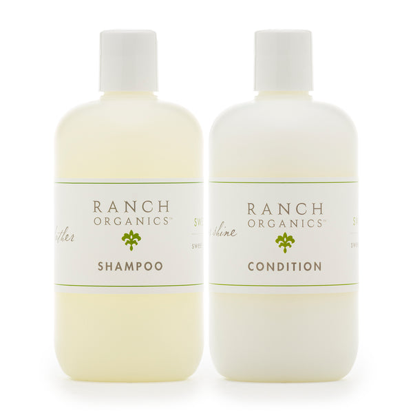 Sweet Grass Shampoo & Conditioner