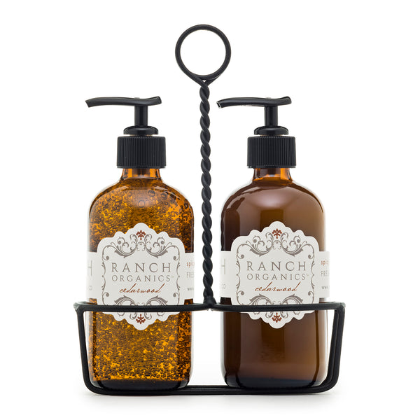 Wash & Lotion Gift Set with Caddie