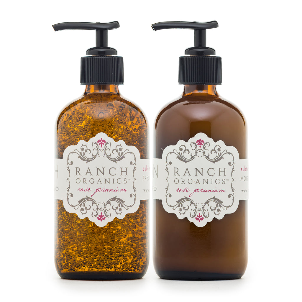 Rose Geranium Wash & Lotion Set