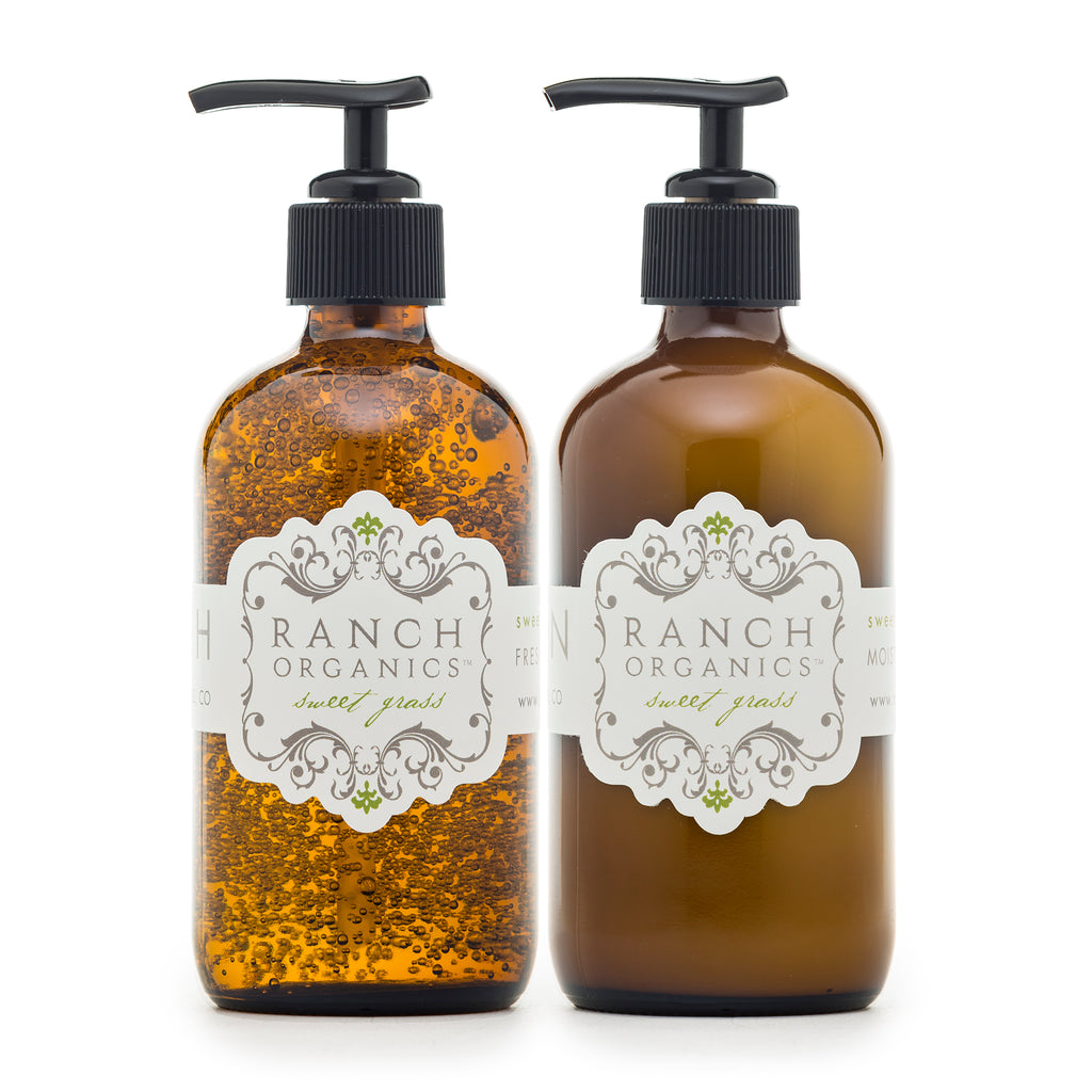 Sweet Grass Wash & Lotion Set