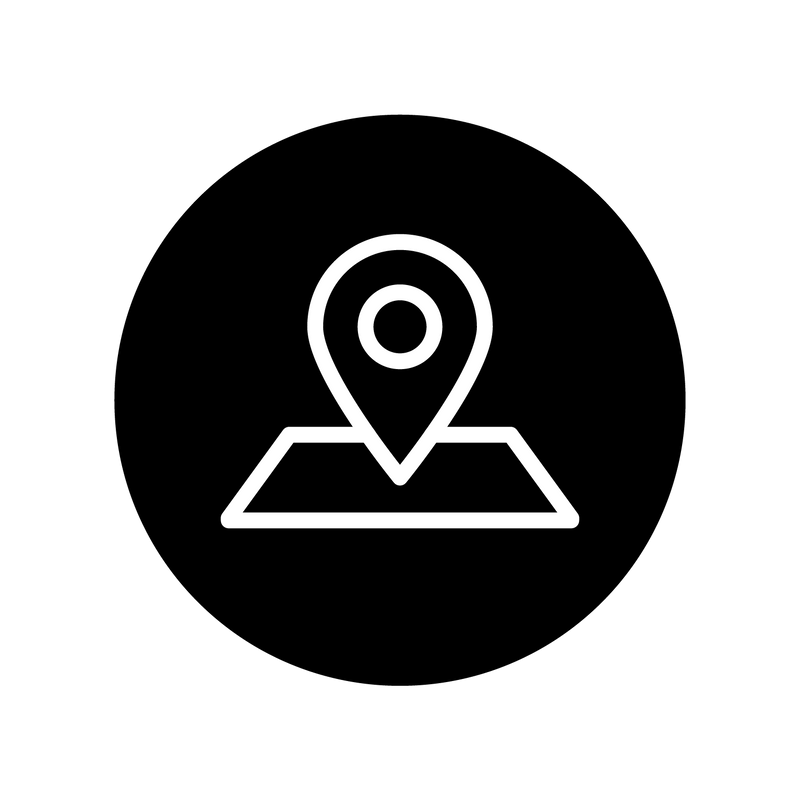 location icon with point on map